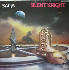 SAGA - SILENT KNIGHT  - LP (ORIGINAL INNERSLEEVE)