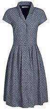 Cotton Check Regular Size Dresses for Women