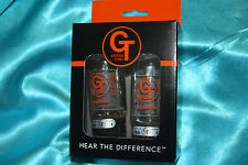 Precision Matched Pair of Groove Tube 6L6-GED Medium Rated (7) Tubes, 5550113503