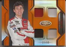 2016 Panini Certified Nascar Racing Ryan Blaney Race Used /99 Orange CM-RB