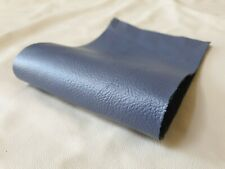 "Navy Blue 2 offcuts Quality 100/%Leather 14/""x5.5/""  1.1mm patch repair craft"