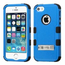 Fundas y carcasas Para iPhone 5s en color principal azul de plástico para teléfonos móviles y PDAs
