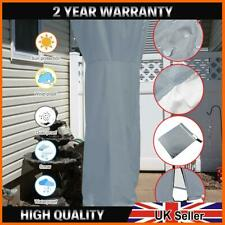 More details for garden patio electric gas heater cover grey waterproof outdoor protect large