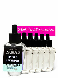 Bath & Body Works Linen & Lavender Wallflowers Refill - 6 Pack