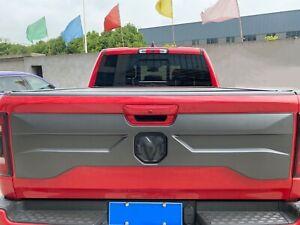 Rear Tailgate Applique Trim Panel for 2019-2020 Ram 1500 Painted Gray #PAR