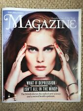 THE TIMES MAGAZINE NEW DEPRESSION MENTAL HEALTH 21st April 2018