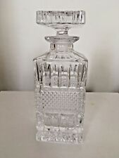VINTAGE DECANTER Cut Crystal Glass for Sherry, Port, Wine, Whisky