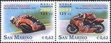 San Marino 2002 M Poggiali/Motorcycle/Motor Bike/Bikes/Sport/Transport 2v n45993