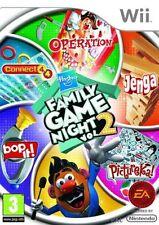 Wii Hasbro Spiel mal wieder  2 DOKTOR BIBBER  JENGA  BOP IT 4 GEWINNT PICTUREKA