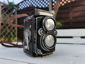 Rolleiflex 2.8e Model K7E 1956 Vintage Camera With Missing Parts See Photos
