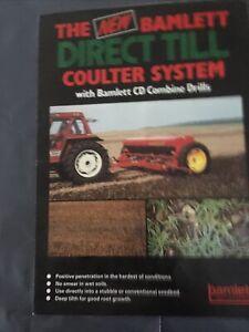 Bamlett CD Combine Drill Brochure