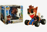 Funko pop! Rides   Crash Bandicoot Vinyl Figure New in Box #64