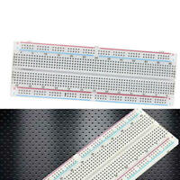 2pcs Breadboard 830 Tie-Point Solderless PCB Bread Board MB-102 MB102 Test cvb