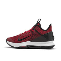 Men's Nike LeBron Witness 4� Basketball Shoes Black/Gym Red/University Red BV742