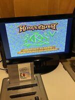 🔥100% WORKING NINTENDO NES RARE RPG GAME Cartridge - KINGS QUEST V 5 FREE SHIP