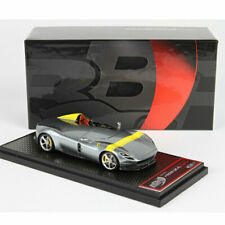 BBR BBRC220A 1:43 Scale Ferrari Monza SP1 Metal Grey Limited Resin Car Model