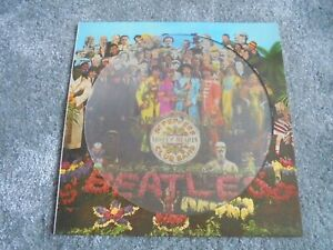The Beatles - Sgt. Peppers.. 1979 UK LP PARLOPHONE PICTURE DISC PHO 7027