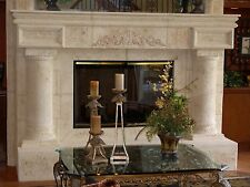 Fireplaces Cast stone - classical and modern designs- affordable