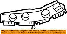 Jeep CHRYSLER OEM Front Bumper Grille Grill-Bumper Bracket Left 5182597AC