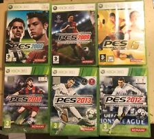 6 PAL XBOX 360 FOOTBALL PES GAME PRO EVOLUTION SOCCER 2008 2009 2011 2012 2013 6