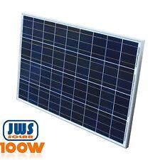 100W Solarpanel Solarmodul Solarzelle Polykristallin 12Volt 100Watt Photovoltaik