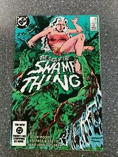 Saga Of The Swamp Thing #25 - June 1984 DC Comics - 1st Constantine appearance