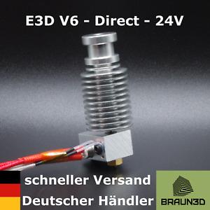 E3D V6 Hotend 1,75mm 24V - All Metal - Direct-Extruder - schneller Versand