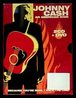 Johnny Cash ?? An American Icon DVD + 2 CD D236003