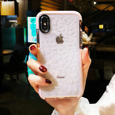 Cute Clear Shockproof Cover Soft Silicone Case For iPhone X 7 8 Plus XS Max XR
