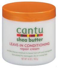 (3 Pack) CANTU SHEA BUTTER LEAVE-IN CONDITIONER REPAIR CREAM 16 Ounce