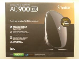Belkin AC900 DB Wi-Fi Dual-Band AC+ Gigabit Router Wireless Network
