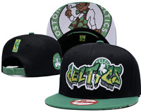 Boston Celtics NBA Basketball Embroidered Hat Snapback Adjustable Cap