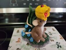 Charming TailsYou've Been On My Mind Mouse Mice Tulip Love Friendship Flower