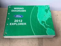 2014 Ford Explorer Electrical Wiring Diagram Service Manual Ebay