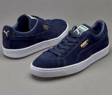 NIB Men's PUMA size 10.5 Suede Classic + Shoes sneakers navy 356568 52