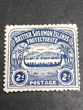 British Solomon Islands Scott 3/SG 3 Mint OG CV $50