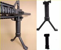 New RIS Foregrip grip Vertical Bipod &20mm Weaver Rail Mount For Rifle Hunting