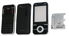 Fascia Housing Battery Cover Keypad Screen Lens For S.E U100 U100i Yari Black UK