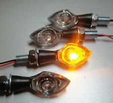 4X LED NANO CHROM SMALL INDICATOR GIRELA RC125 Rally,RV 200 LC,RV125,Arizona,TS