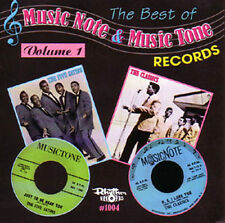THE BEST OF MUSIC NOTE & MUSIC TONE RECORDS Vol.1 CD