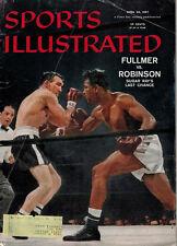 April 29, 1957 Sports Illustrated Issue - Gene Fullmer & Sugar Ray Robinson