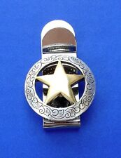 Western Decor Concho Money Clip  (PICK YER CONCHO)