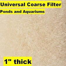 "Universal Coarse Filter Media 28""x15 ft x 1"" thick roll-aquarium-pond-filtration"