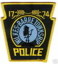 WILKES-BARRE  PENNSYLVANIA POLICE  PATCH