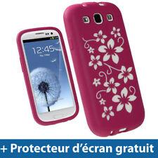 Étuis, housses et coques avec clip blancs Samsung Galaxy S pour téléphone mobile et assistant personnel (PDA)
