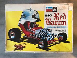 RARE MONOGRAM BIG RED BARON (TOM DANIEL) 1ère ISSUE 1968 (PC219-600) AU 1/12