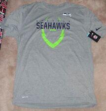 NEW NFL Seattle Seahawks T Shirt Men 3XL XXXL NIKE Dri Fit NEW NWT