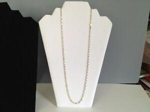 """Vintage Sterling Silver 20"""" Necklace & 6 1/2"""" Bracelet - Making a  26"""" Necklace"""