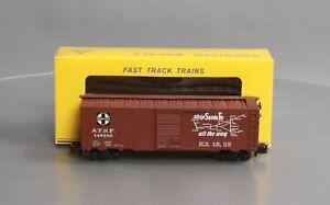 American Models 1115 S Scale (Hi-Rail) Santa Fe 40' Box Car NIB