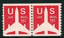 USA 1971 Airmail Scott # C82 Coil Pair MNH G908 ⭐⭐⭐⭐⭐⭐